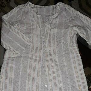 J.Jill 100 %linen blouse